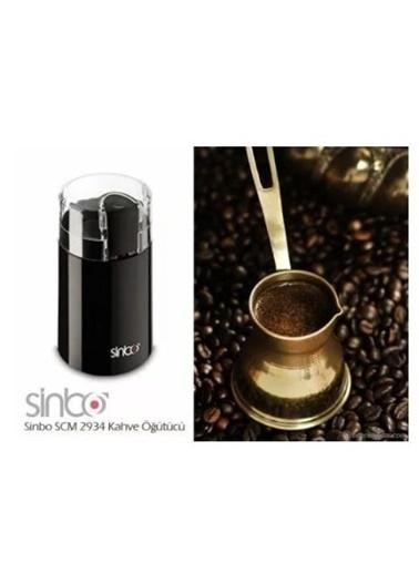 Sinbo Sinbo SCM-2934 Siyah Kahve Öğütücü Renkli